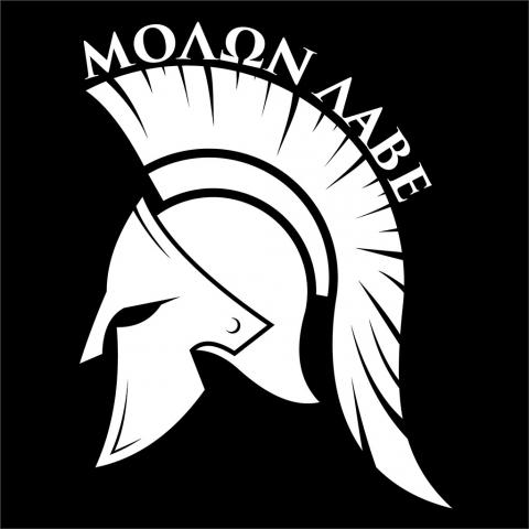 Molon Labe Spartan Helmet