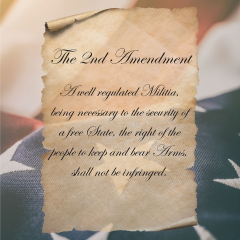 2nd Amendment Parchment