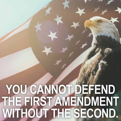 First and Second Amendment with Eagle