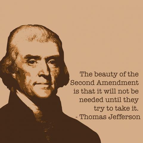 Thomas Jefferson 2nd Amendment