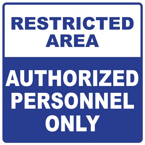 Restricted Area Authorized Personnel