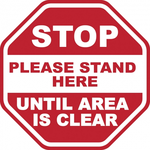 Stop - Stand Here