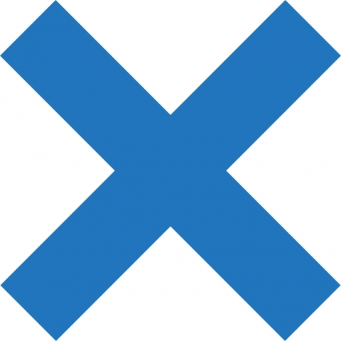 X Sign