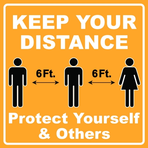 Protect Yourself and Others Distancing