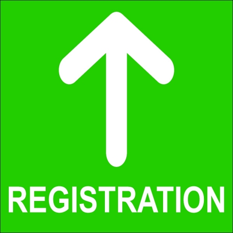 Registration Up Arrow