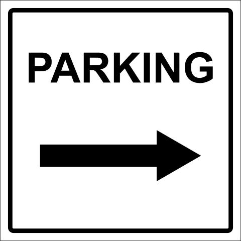 Parking Right Arrow