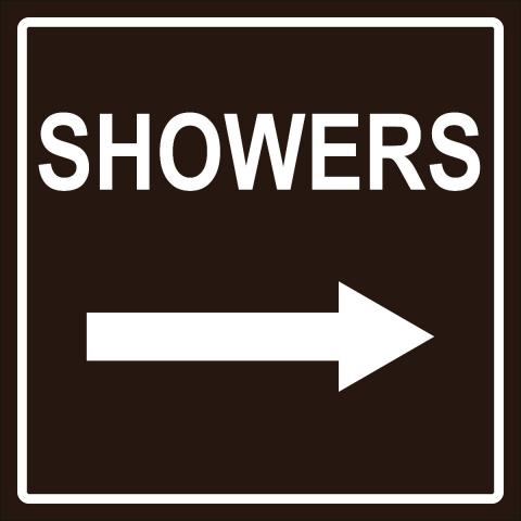 Showers Right Arrow