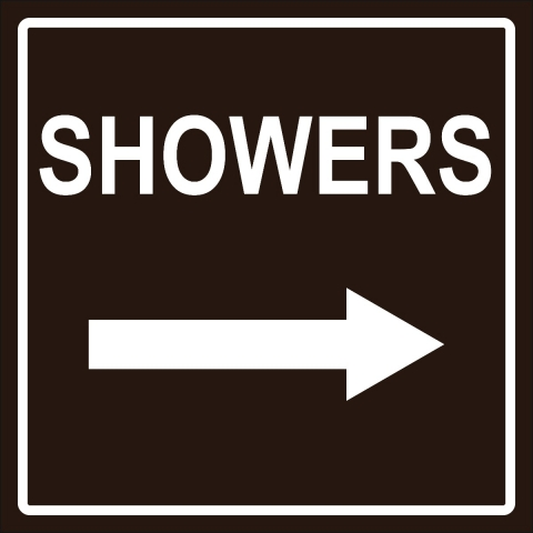 Showers Right Arrow