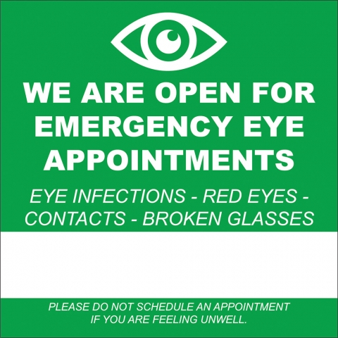 Emergency Eye  Appointments