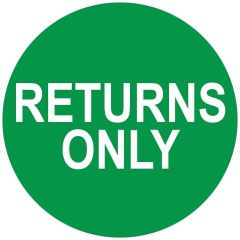 Return Only - Top Arrow