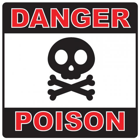 Danger Poison Pictogram
