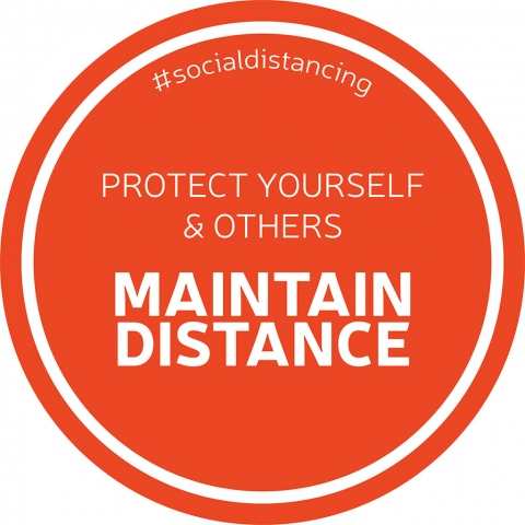 Maintain Distance #socialdistancing