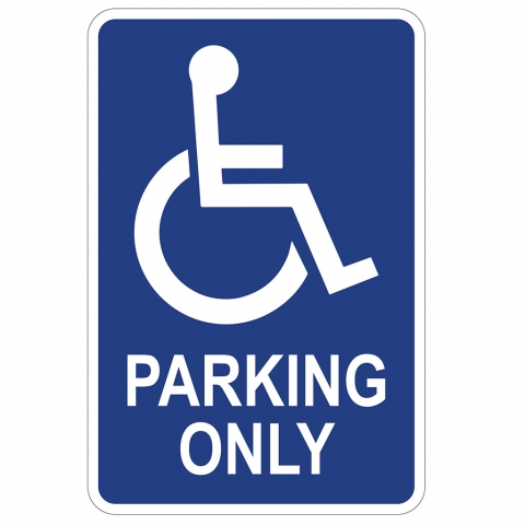 Handicap Parking Only
