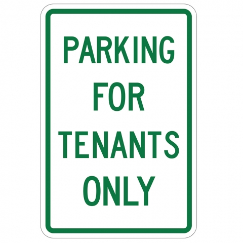 Parking for Tenants Only