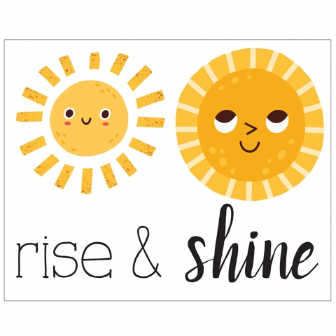 Rise and Shine with Suns