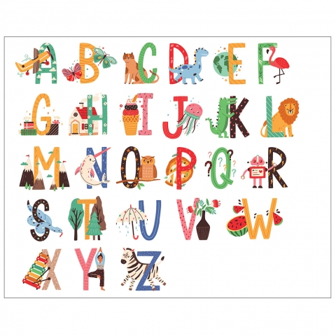 Alphabet Letters with Examples