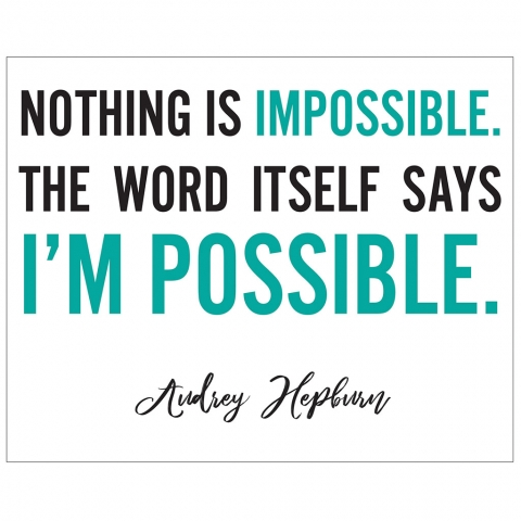 Audrey Hepburn I'm Possible