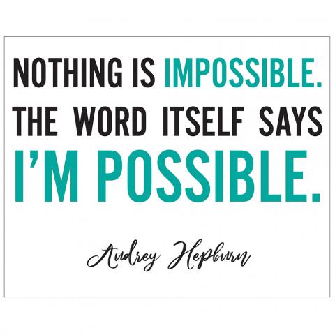 Audrey Hepburn I'm Possible