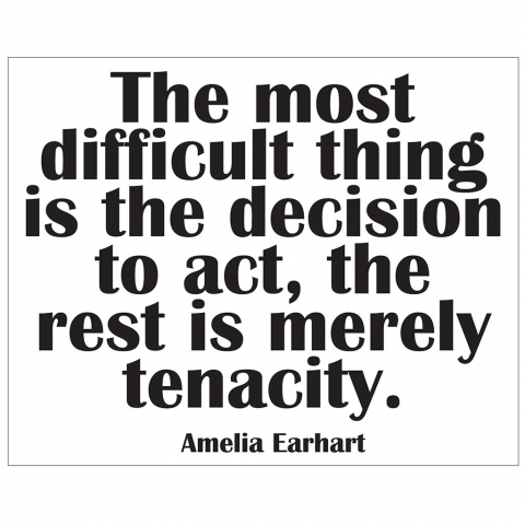 Amelia Earhart The Decision to Act