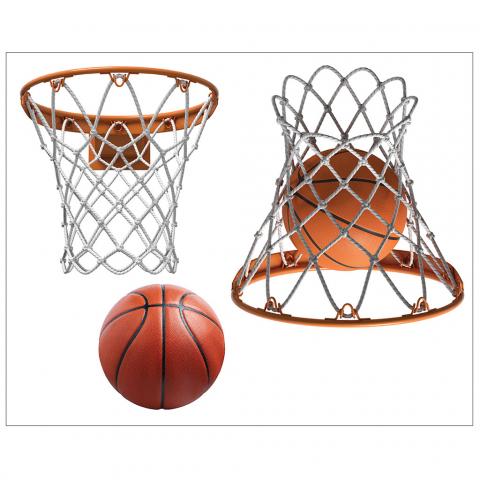 Basketball Hoop with Ball
