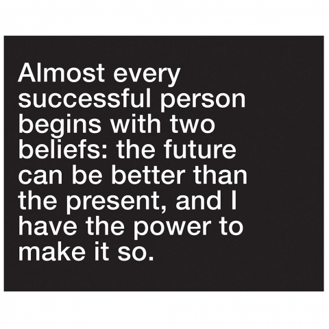 Successful Person Beliefs