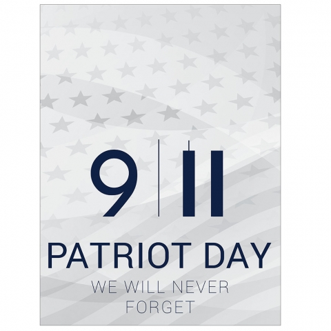 Patriot Day September 11th We Will Never Forget