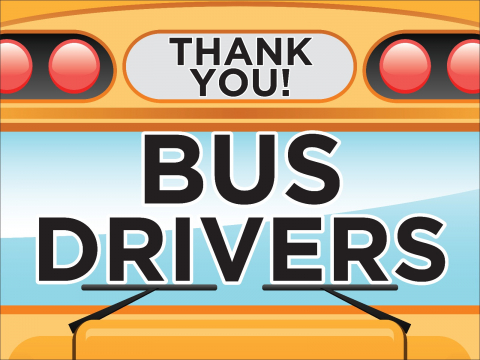 Thank You Bus Drivers Shout Out