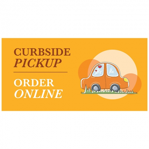 Curbside Pickup Order Online with Car & Website