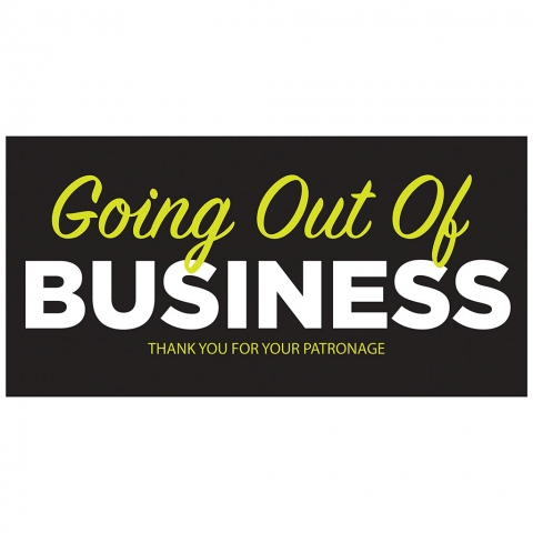 Going Out of Business - Thank You