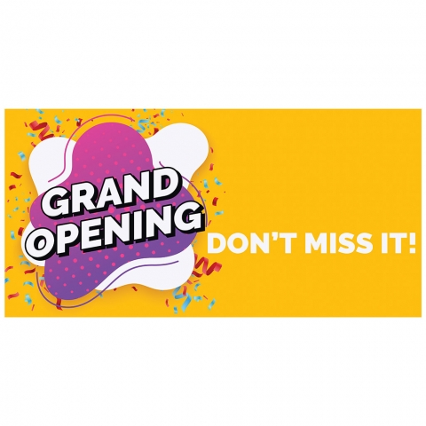 Grand Opening Don't Miss It