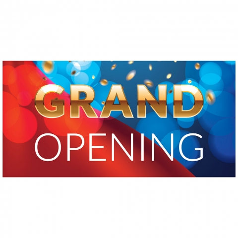 Grand Opening with Date Time