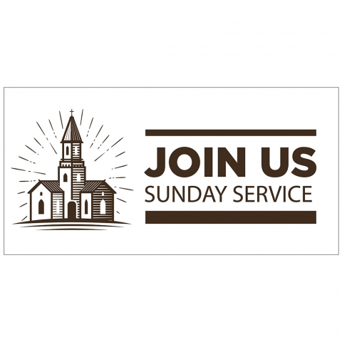 Join Us Sunday Service with Time