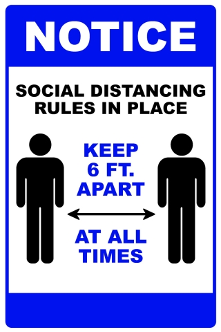 Social Distancing Here