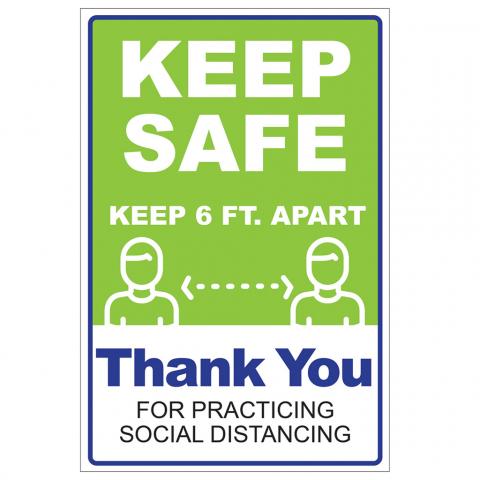 Social Distancing Keep Safe