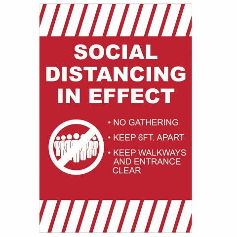 Social Distancing In Effect