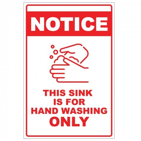 Handwashing Only Sink