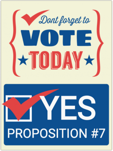 Vote Yes on Proposition Number