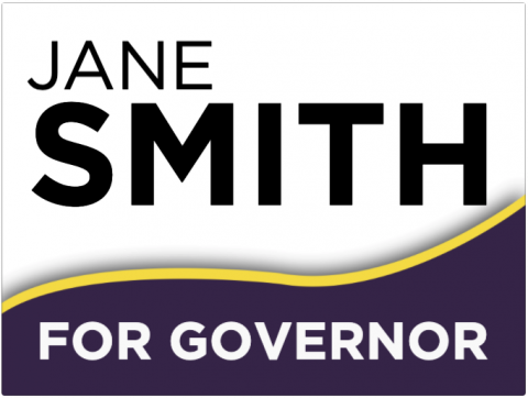 Custom Governor Signage