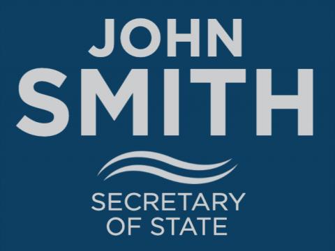 Secretary of State, Signage